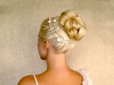 Wedding Updo Hairstyles For Long Hair Tutorial Easy New Years Christmas Holiday Bun With Extensions