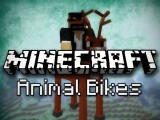 Minecraft: Dragon Riding, Squid Surfing, And More! Animal Bikes Mod