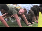 Middle School Students Train With Marines