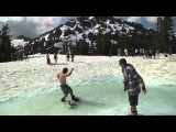 Snowboard & Ski Crashes: Water Rides