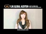 2012 SM GLOBAL AUDITION ARTIST Message Ver.ENG