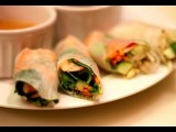 SPRING ROLLS W Peanut Sauce: Make Your Own