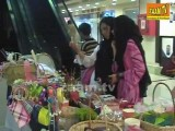 HandiCraft Exhibition At Sitara Mall Faisalabad - Zaam TV Women's Day 2012 Special Program