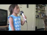 Bleeding Love- Leona Lewis Cover Alexa Narvaez 3 Years Old