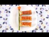 How To Make Koinobori Spring Rolls Recipe こいのぼり春巻きの作り方 レシピ