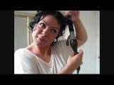 Eva Longoria Inspired Updo For Shorter Hair