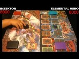Yugioh Duel: Elemental Hero Vs Inzektor - Round 1