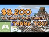 $8200 Child's Play Charity Fundraiser Goal Achieved! THANK YOU!
