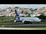 HD Airbus A380 At Sao Paulo Guarulhos GRU SBGR - 2012