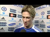 Chelsea 6-1 QPR - Fernando Torres Interview - 29th April 2012